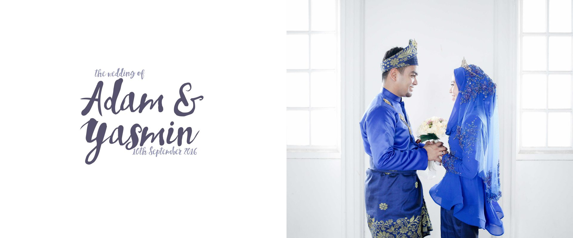 Yasmin & Adam #wedding #photo