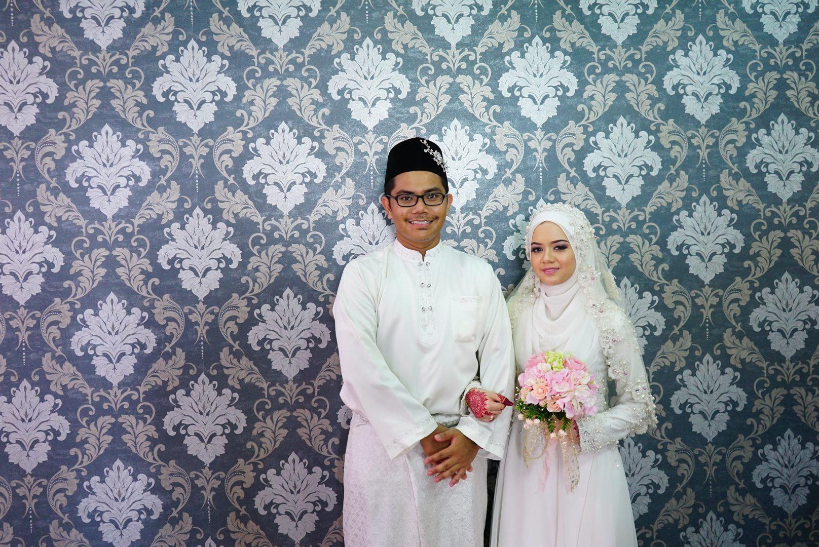 Syazwani & Ezwan #wedding #photo