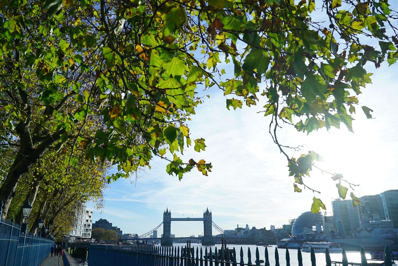 ✈ London