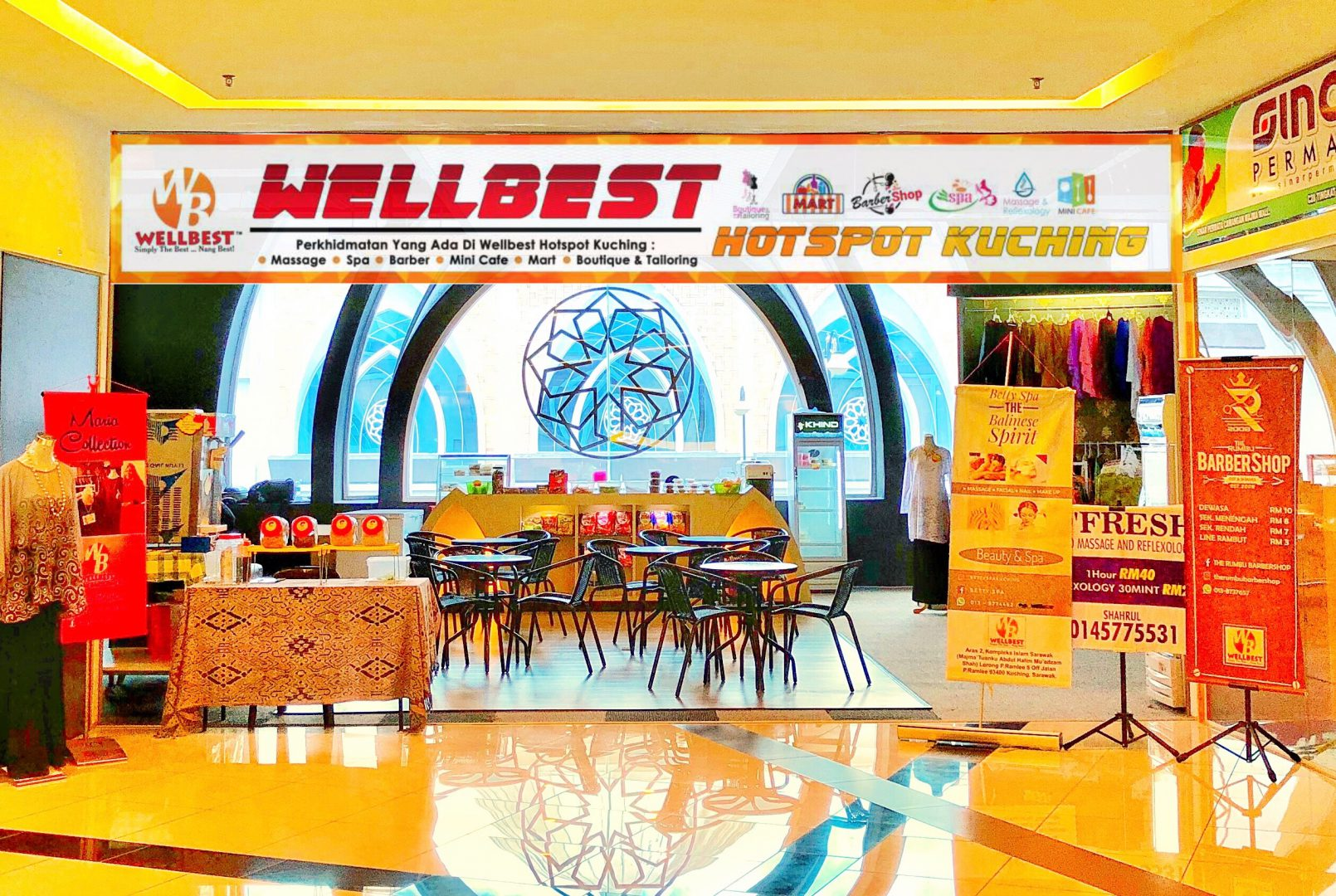 Wellbest Hotspot Kuching #video