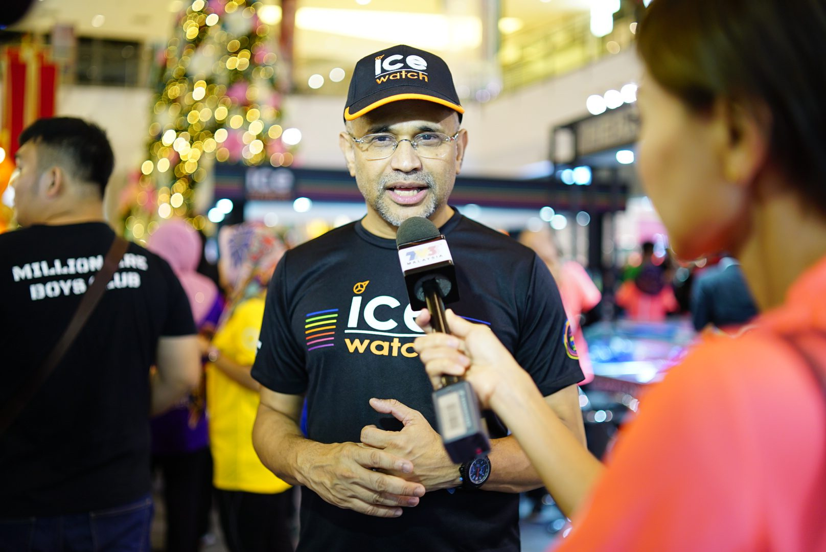 #video : Ice-Watch Light Up the Night Run 2018