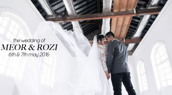Meor & Rozi #wedding