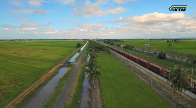 KTMB : The Longest Cargo Train Using Single Locomotive
