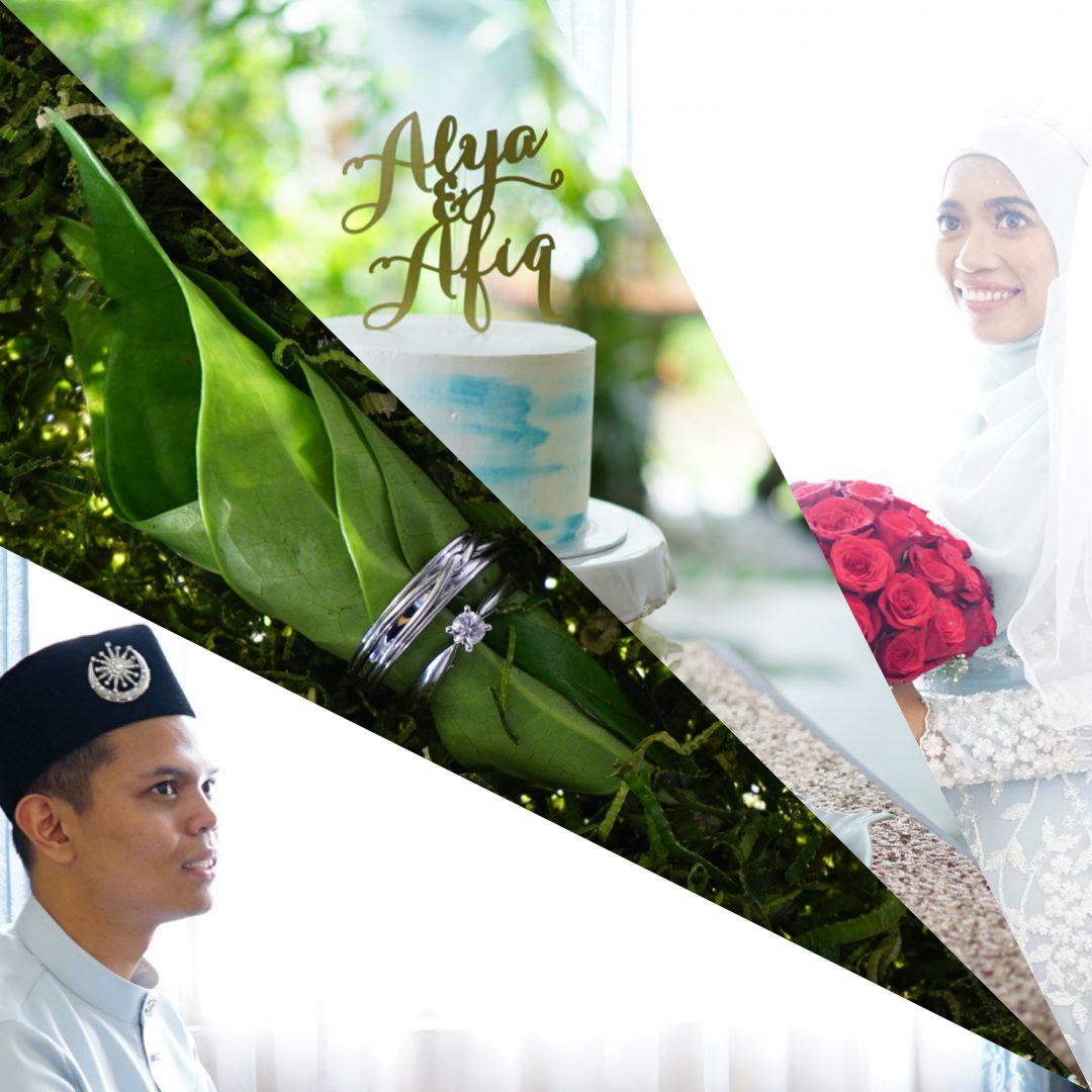 Alya & Afiq #wedding #video