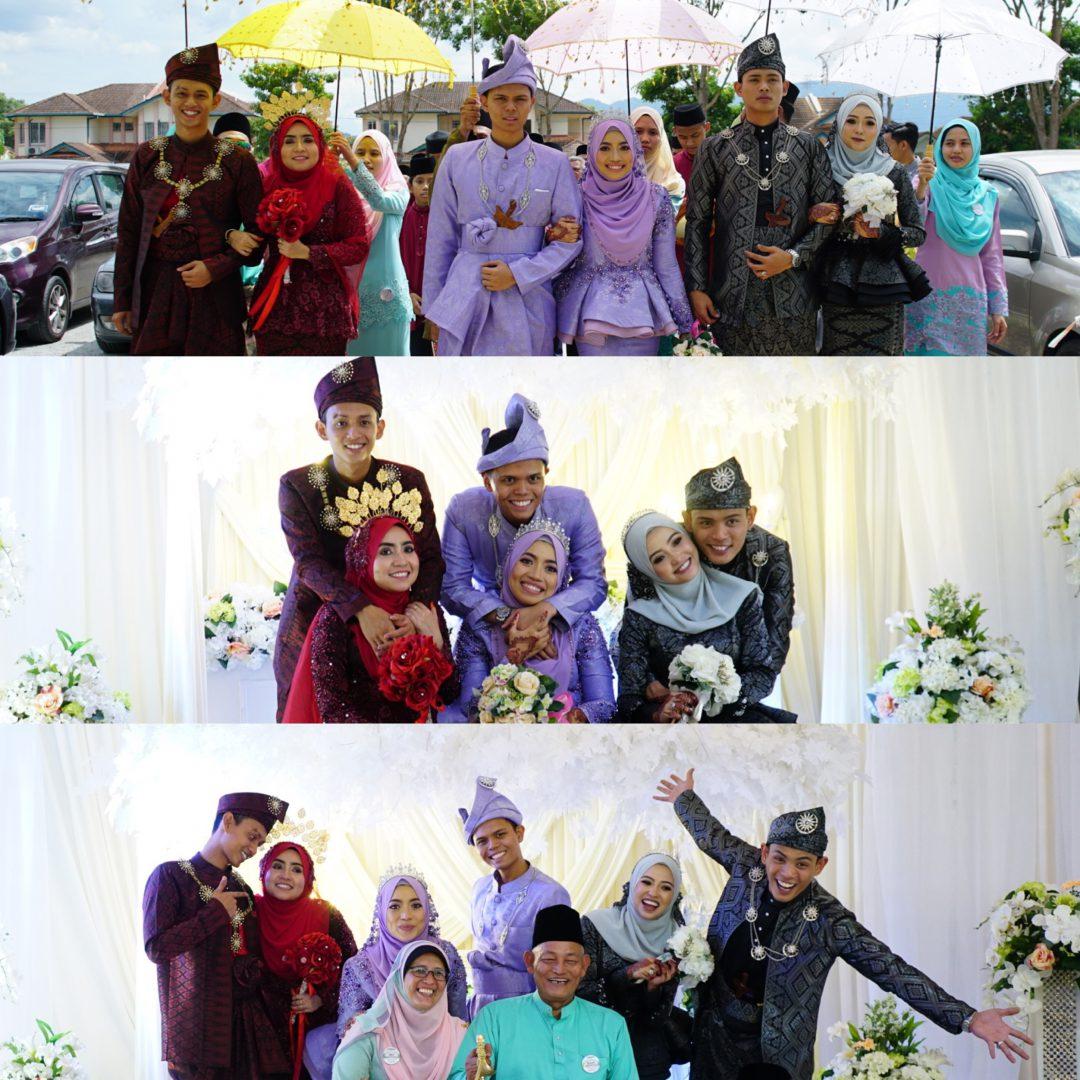 Afiq & Alya, Asyraf & Aini, Athir & Iman