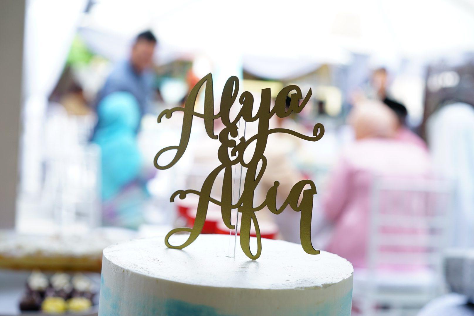Alya & Afiq #video