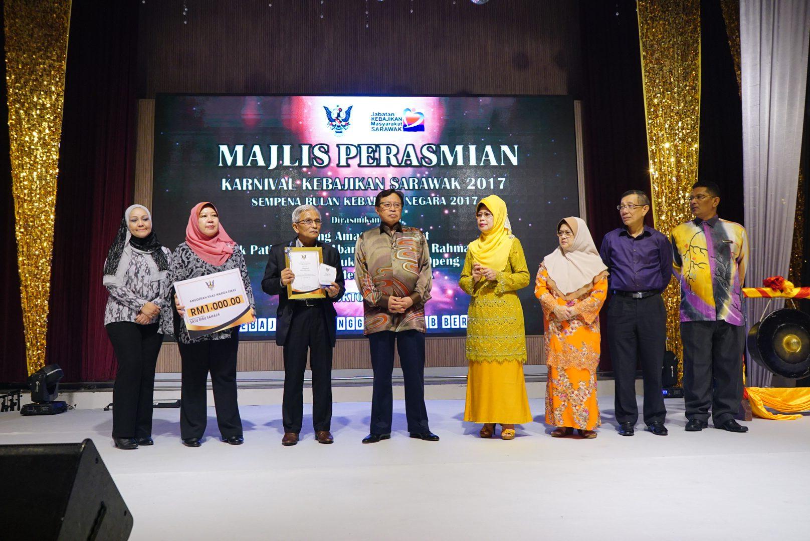 Perasmian Karnival Kebajikan Sarawak 2017